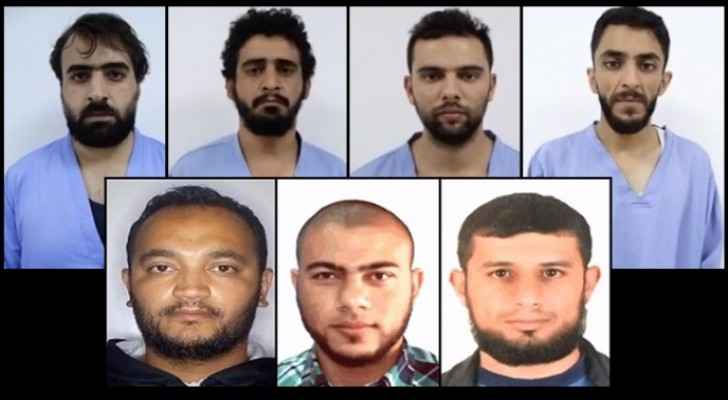 'Salt Terrorist Cell' members.