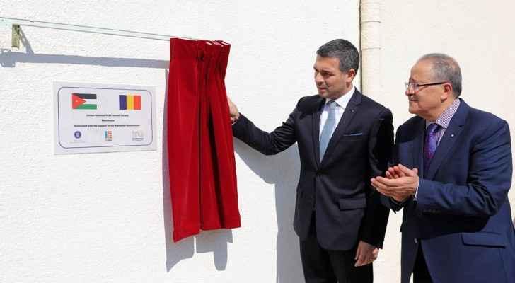 Ambassador of Romania to Jordan, Nicolae Comanescu.