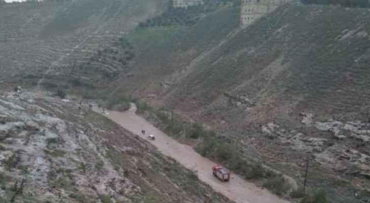 Wadi Ghafar Road closed during winter