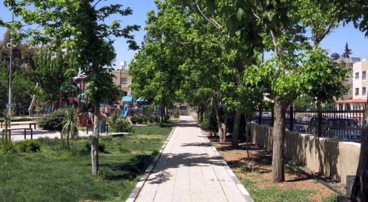 Amman is getting greener and more accommodating of green spaces. (Motherhood & More)