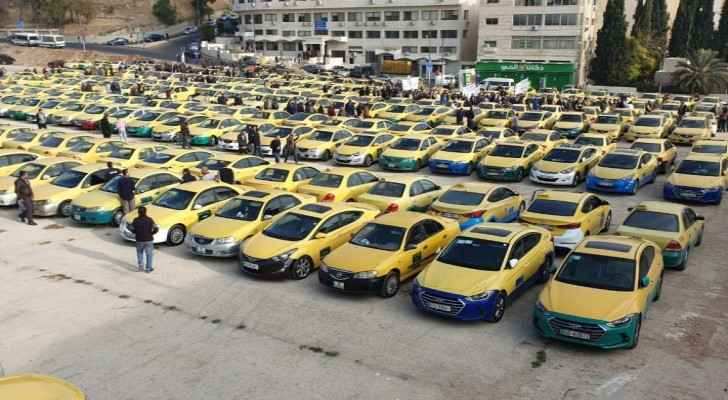 Obtaining a taxi license has a market price of a minimum JD 40,000. (Roya)