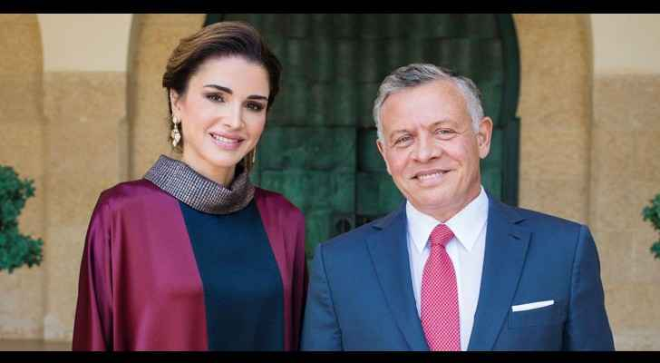 His Majesty King Abdullah II and Her Majesty Queen Rania Al Abdullah