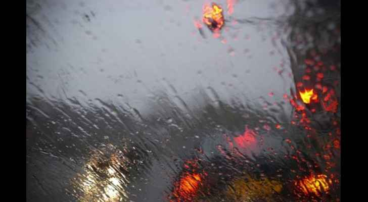 Desert Highway weather warning: heavy rain, thunderstorms