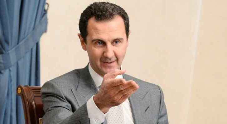 Assad sends greeting to King, Jordan