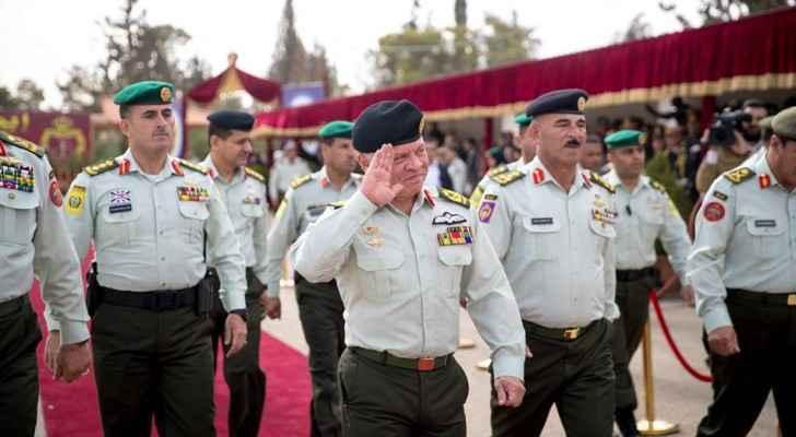 King attends graduation of Forsan Al Mustaqbal officers