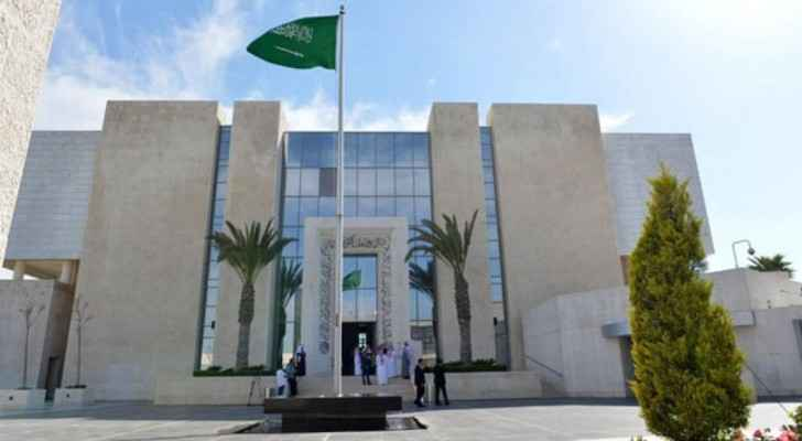 The Saudi Embassy in Amman. (Assabeel.net)