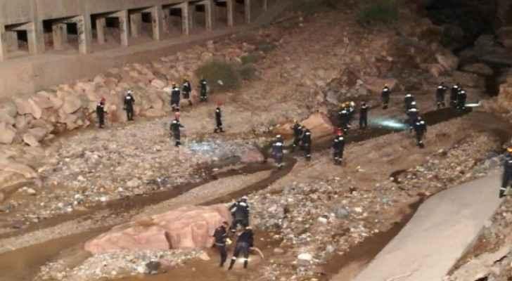 Search and Rescue team in Dead Sea area.