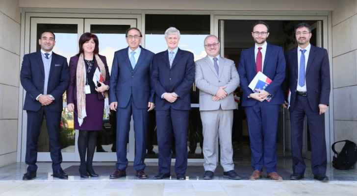 British Ambassador visits AlHussein Technical University