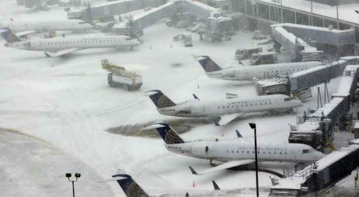 Heavy blizzards ground more than 1200 flights in US
