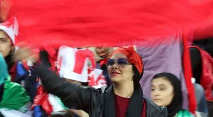 Iran pushed to remove ban on women football fans