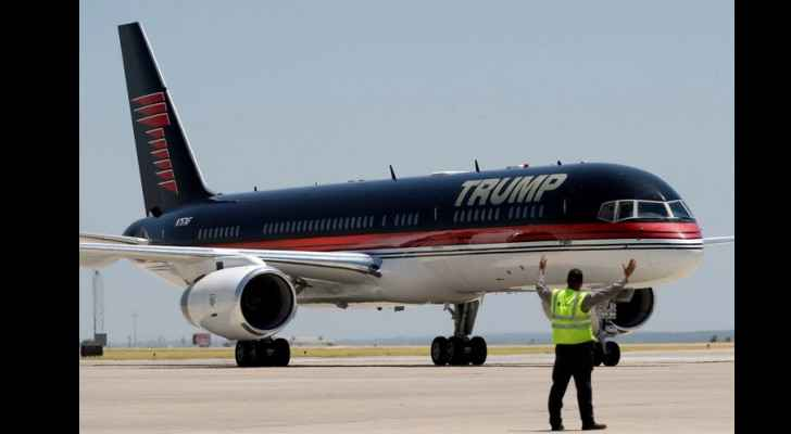Trump's plane hit by jet in parking accident