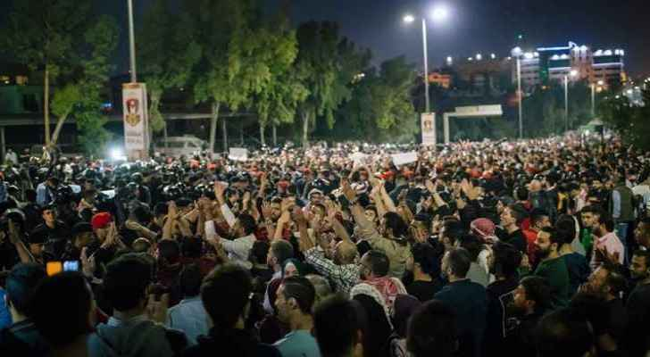 Jordanian parties refuse to participate in 4th circle demonstrations