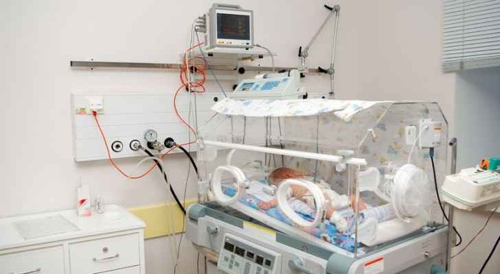 The baby was born prematurely. (Premature Babies)