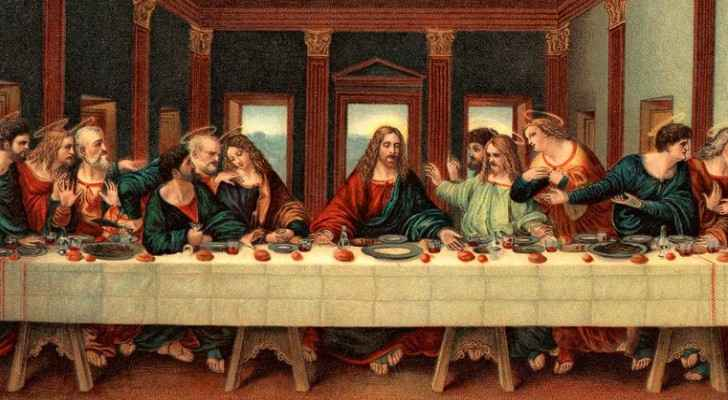 A painting of The Last Supper. (ThoughtCo)
