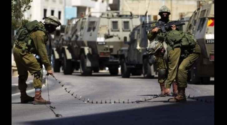 Israeli forces raid Ramallah