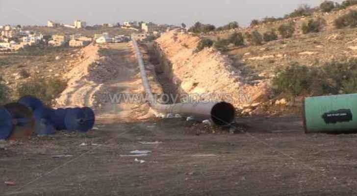 Israel-Jordan gas pipeline in its final stages
