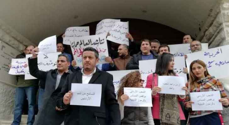 Journalists stand with Wakeel and against cybercrime law
