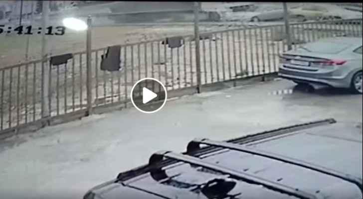 Speeding truck causes major accident in Irbid
