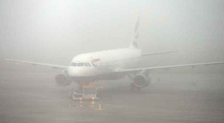Flights diverted to Aqaba due to fog