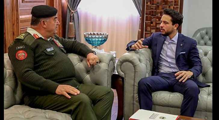 Crown Prince visits Armed Forces
