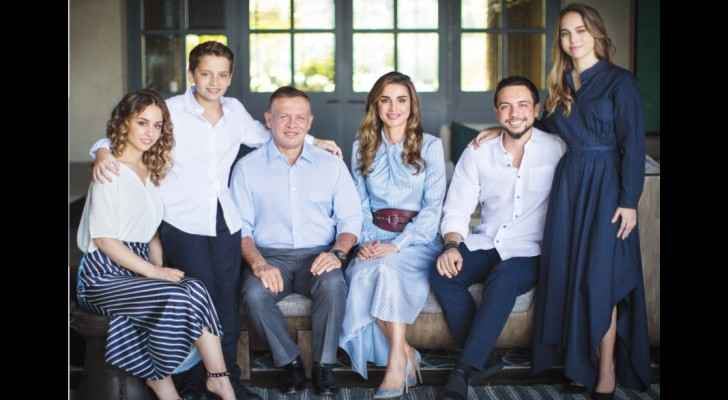 Royal Family congratulates Jordanians on Christmas and New Year
