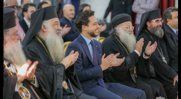 Crown Prince attends Christmas 'Fountain of Life' ceremony in Jerash