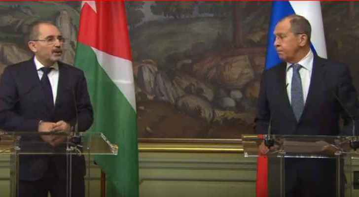 Lavrov and Safadi emphasize need for resumption of contact between Syria and Arab countries