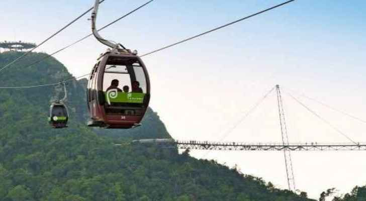 Cable cars in Ajloun early next year