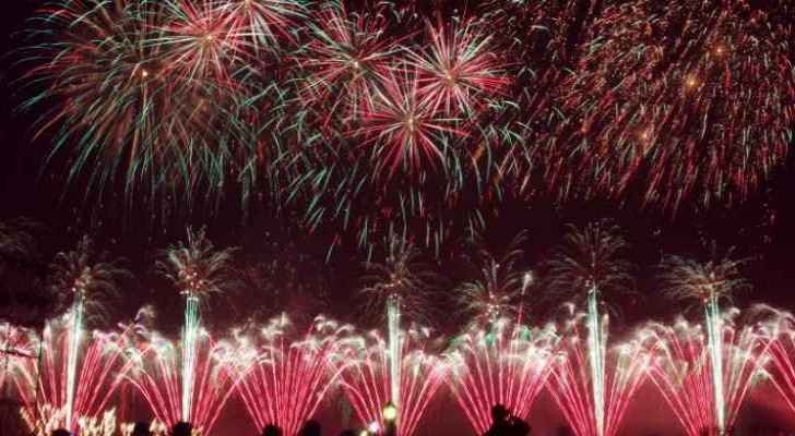 uae to set new guinness record with new years firework celebration