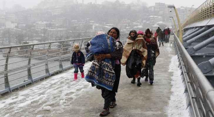 UNHCR clarifies fire was accidental in Rukban refugee camp