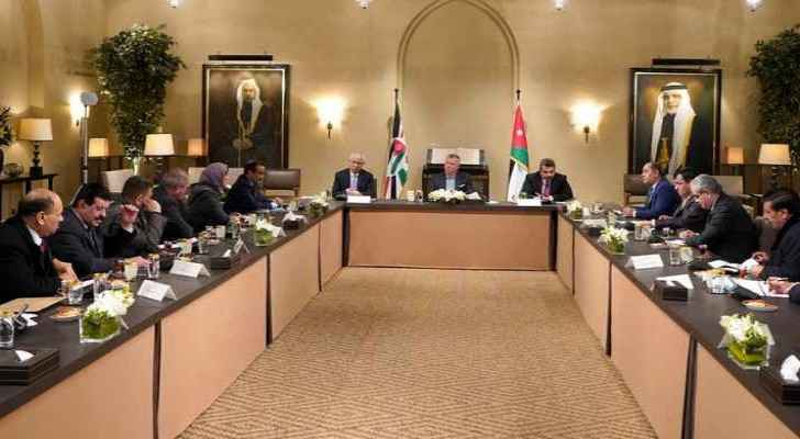 King: Improving Jordanians' living conditions top priority for parliamentary blocs