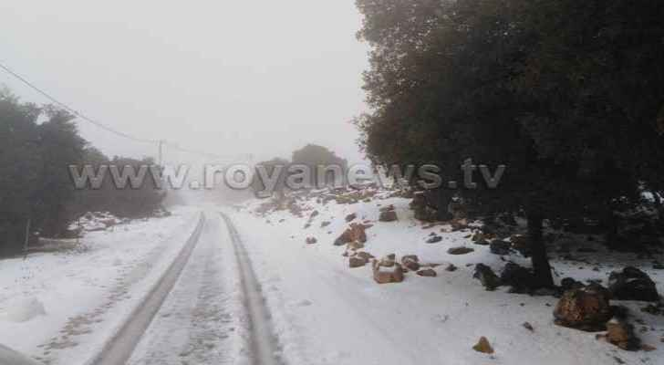 Ras Munif witnessed highest levels of snow and rain