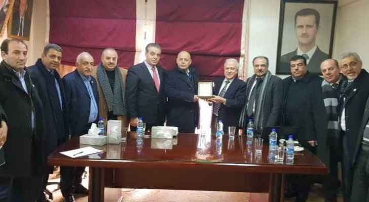 Jordanian-Syrian joint committee facilitate contribution of Jordanians in Syrian reconstruction