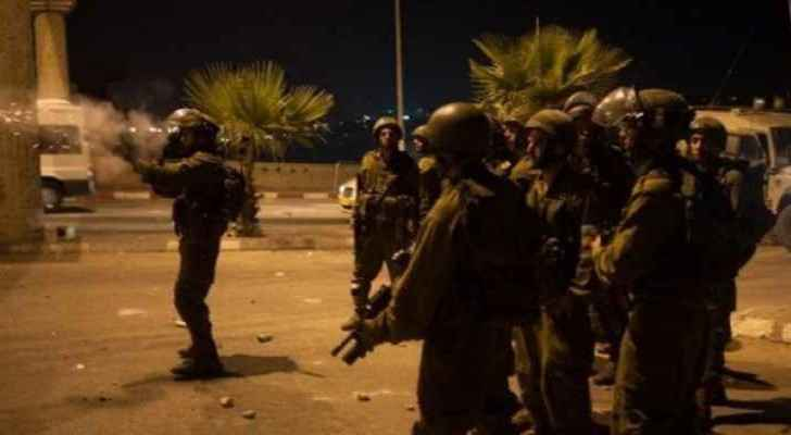 Violent clashes in northern occupied West Bank