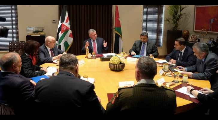 His Majesty King Abdullah II, while chairing a follow-up meeting on medical tourism