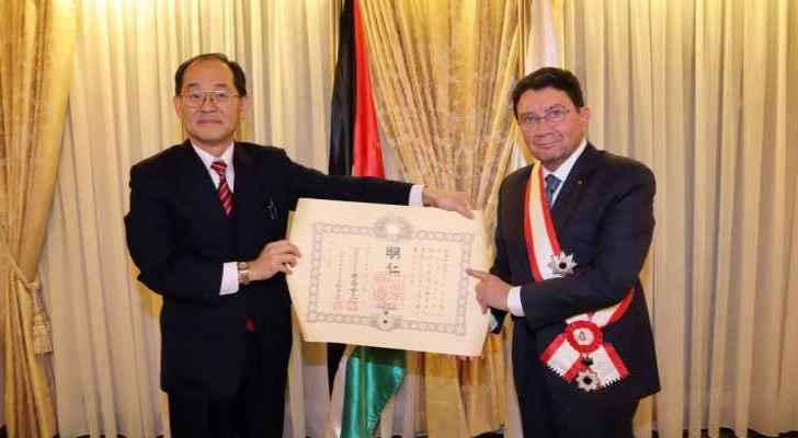 Japanese Emperor awards Jordanian Taleb Rifai with Order of Rising Sun
