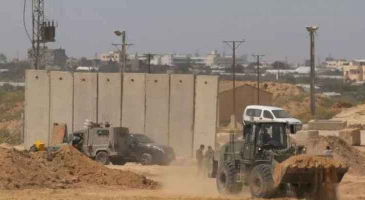 Israel to start building new 'particularly massive and strong' wall along Gaza strip