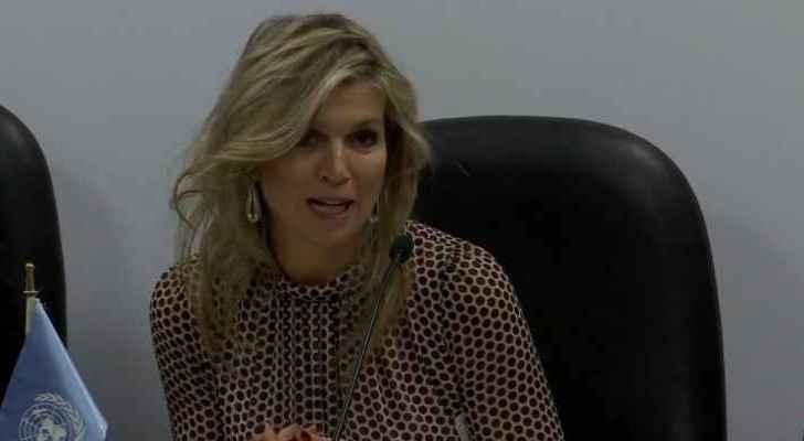Queen Maxima of Netherlands UNSGSA visit to Jordan