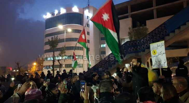 Thursday protests around fourth circle continue