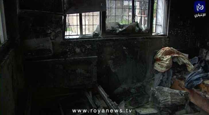 Video footage: Ajloun riots, hospital fire damage