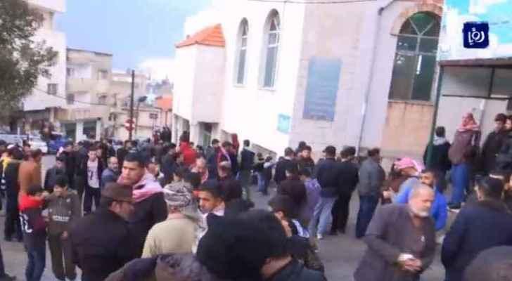 Jordanians attend victim of Ajloun riots funeral