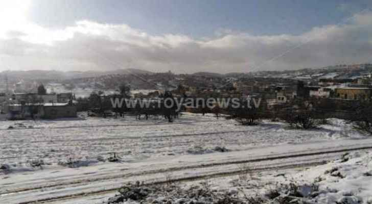 Snow over areas exceeding 1000 meters this week