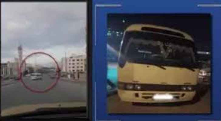 Bus driver caught driving in opposite direction