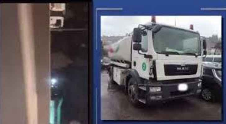 Video: Fuel tanker driver caught driving opposite traffic direction