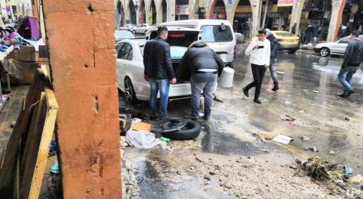 Floods cause heavy losses in Downtown Amman