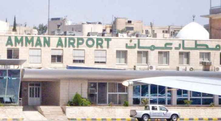 Amman Civil Airport shut down due to damage after heavy rainfall