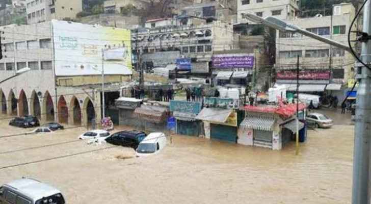 Floods in Downtown Amman
