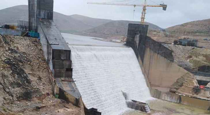 Precautionary measures to preserve lives taken for the controlled draining of King Talal Dam