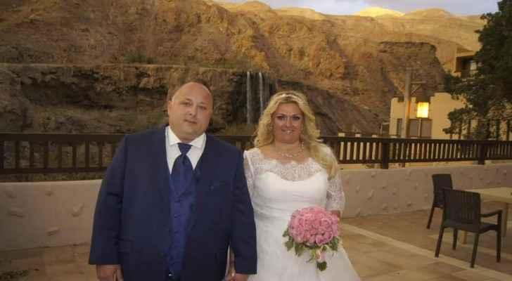 German wedding at Ma'in Hot Springs