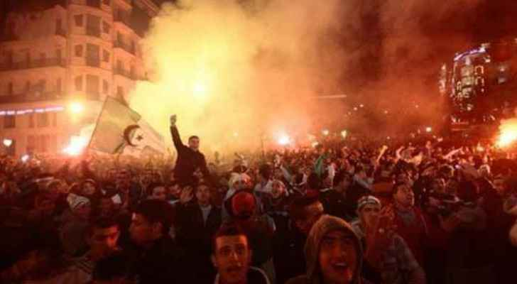 Algerians celebrate Bouteflika's withdrawal from election